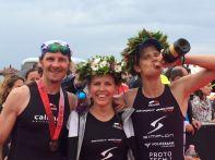 Christoph Erath, Bianca Steurer, Paul Reitmayr - Ironman 70.3 Pescara