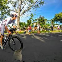 Start der 180km Radfahren
