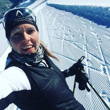 Training: cross-country skiing
