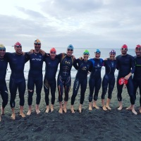 open water swim session #lb-training