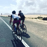 long ride to Corralejo