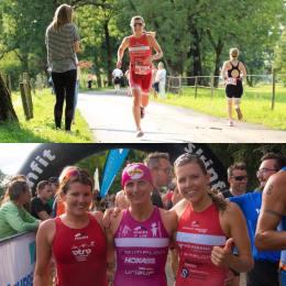 Jannersee Triathlon mit Daniela Bader und Yvonne Van Vlerken