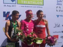 TransVorarlberg Triathlon mit Simone Fürnkranz und Yvonne Van Vlerken