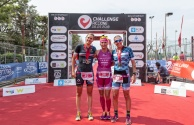 top 3 female at Challenge Riccione