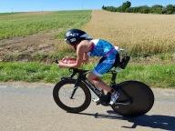 ... auf der Radstrecke, Foto: @TriathlonMagazin