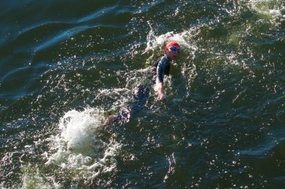 3,8km Schwimmstrecke im Main-Donau-Kanal, Foto: @VTRV