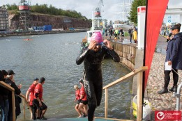 out of the water at 4th position